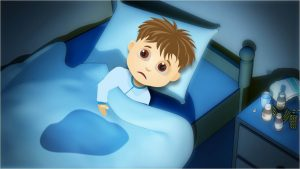 Enuresis nocturna infantil