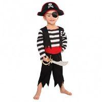 disfraz de pirata para niño de 3 años