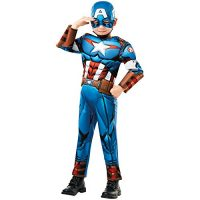 disfraz capitan america para niño