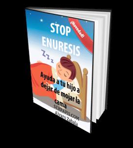 """En el libro electrónico """"Stop Pipí: ayuda a tu hijo a dejar de mojar la cama"""" te contamos cómo ayudar a tu hijo a resolver el problema de la enuresis."""